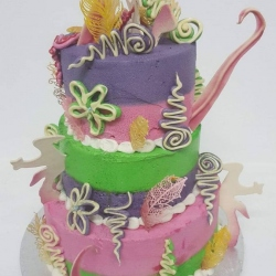 Colourful-cake