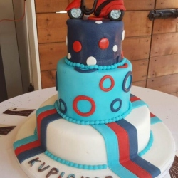 Moped-cake